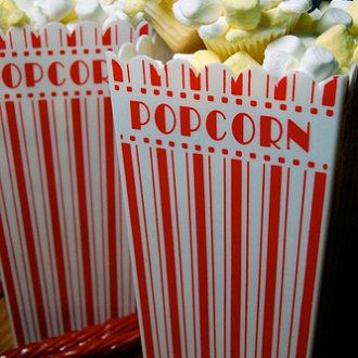 Movie Night: Popcorn Cupcakes