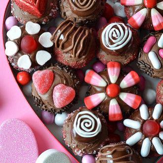 Box of Chocolates Cupcakes