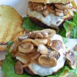 Amish-Style Smothered Mushroom Burgers