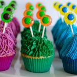 Monster Cupcakes Tutorial