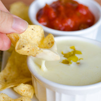 Queso Blanco Dip (White Cheese Dip), The Second and Final Attempt