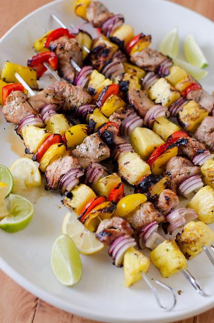 Grilled Pork Kabobs