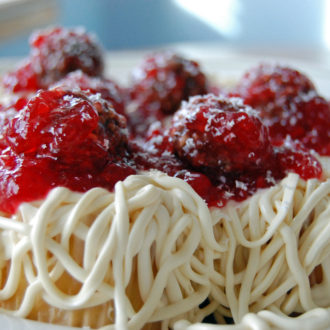 April Fools! Spaghetti & Meatballs… or not?