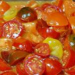 Multi-Colored Tomato Sauce
