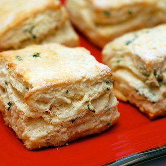 Garlic & Parsley Buttermilk Biscuits