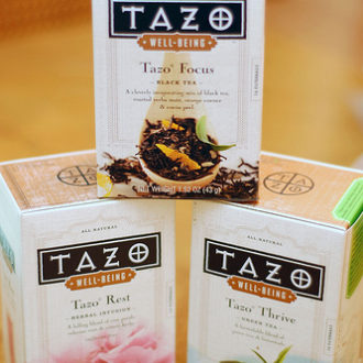 Tazo Well-Being Teas: Giveaway! – CLOSED