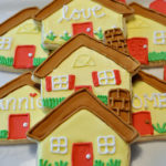 Welcome Home Cookies with Royal Icing