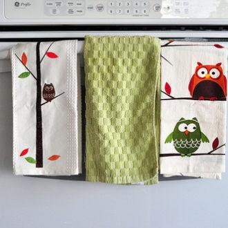 Owl Towels