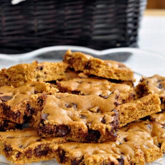 Pumpkin Chocolate Chip Brownies