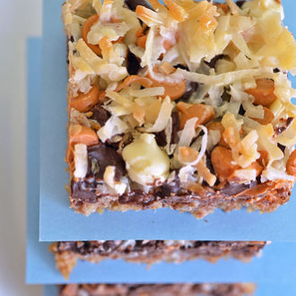 Seven-Layer Bars (Magic Bars)