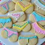 Bridal Shower 'Tushie Cookies