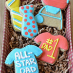 Father's Day Sugar Cookies and a Gift Packaging Tutorial