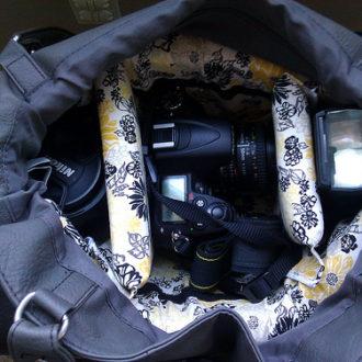 DIY Camera Purse