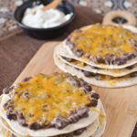 Mexican Triple-Decker Pizzas