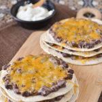 Mexican Triple-Decker Pizzas