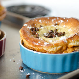 Chocolate Chip Bumpy Cakes