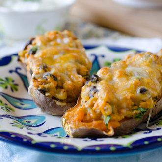 Southwestern Stuffed Sweet Potatoes