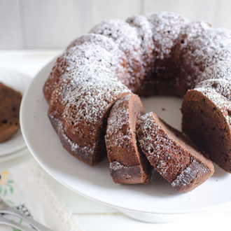 Cinnamon Chocolate Pound Cake
