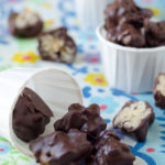 Chocolate Covered Crispy Poppers