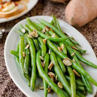 Classic Green Bean Almondine