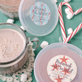 Peppermint (Candy Cane) Hot Chocolate Mix