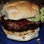 Crispy BBQ Burgers