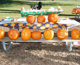 Pumpkin Cream Sandwiches and Other Party Food