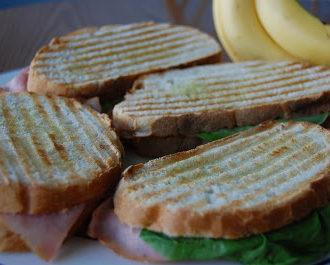 Ham and Cheese Panini's
