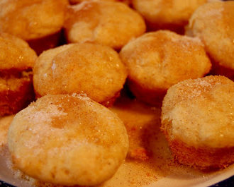 French Breakfast Puffs (aka Mini Cinnamon Muffins)