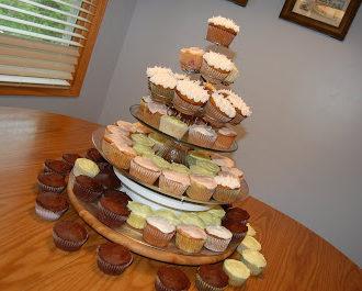Graduation Cupcake Tower