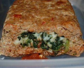 Florentine Turkey Meat Loaf
