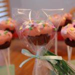 Red Velvet Cupcake Pops