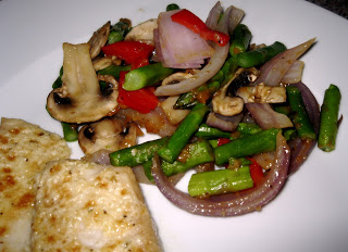 Oriental Cashew Asparagus