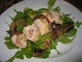 Chicken Stuffed with Prosciutto and Fontina