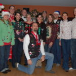 Ugly Christmas Sweater Party & Vote for Your Favorite Candy House