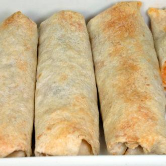 """Cheesy Chicken """"Ben-chiladas"""""""