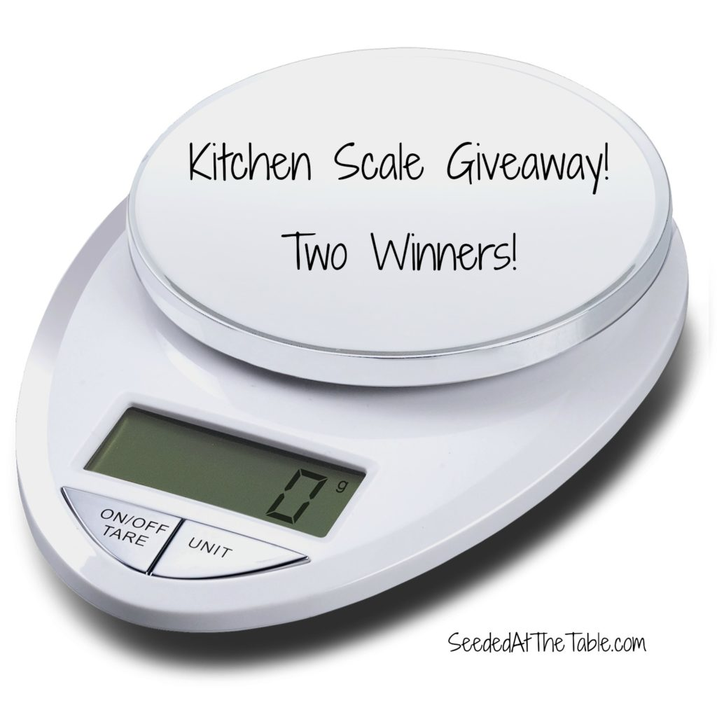 Eatsmart precision pro kitchen scale review and giveaway for Kitchen pro smart scale