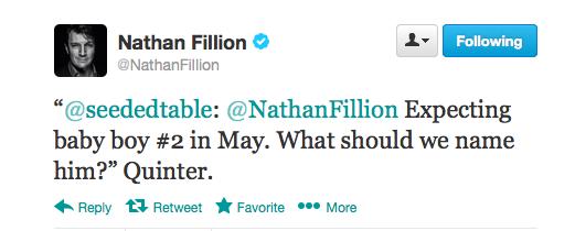 Nathan Fillion Tweet