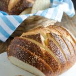 Sliced Pretzel Bread by SeededAtTheTable.com