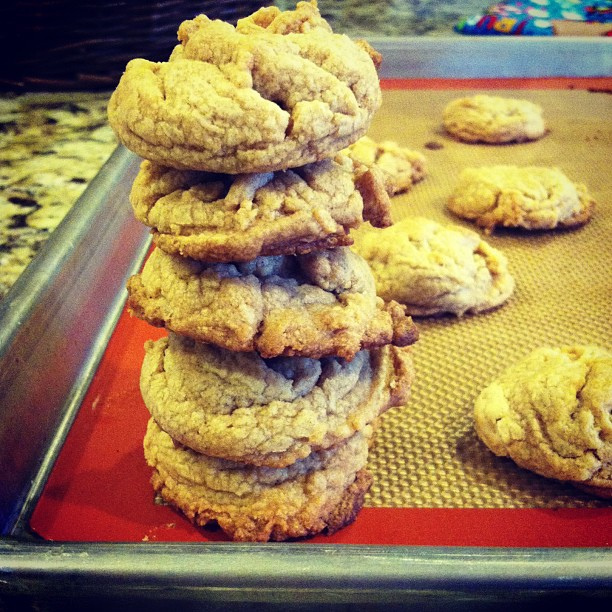 Cookie tower.