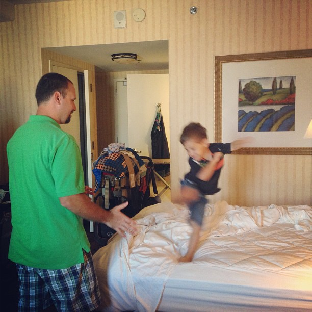 Karate chops are happening in our room right now. #blogherfood #kidsaretoofunny