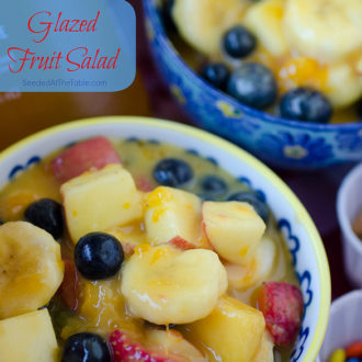Salad Sundays: Glazed Fruit Salad