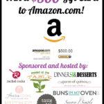 Reader Appreciation Giveaway: $500 Amazon Gift Card!