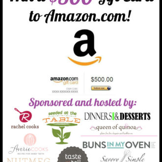 Reader Appreciation Giveaway: $500 Amazon Gift Card!
