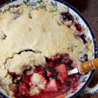 Our Favorite Berry Cobbler