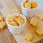 Homemade Cheese Snack Crackers