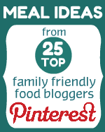 Meal Ideas from 25 Top Family Friendly Food Bloggers