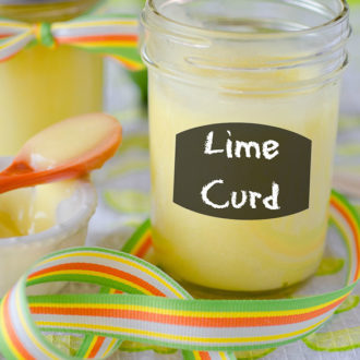 My favorite homemade Lime Curd recipe. This fresh curd recipe can be used for any citrus -- lemon or lime and beyond!