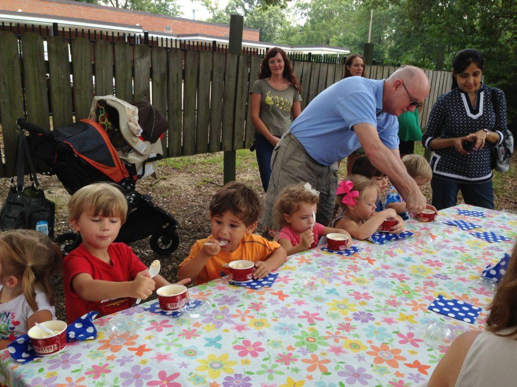 preschool storytime ice cream
