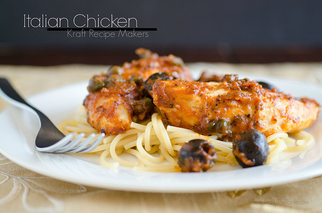 Italian Chicken Kraft Recipe Makers